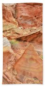 Colorful Wash 3 In Valley Of Fire Beach Towel