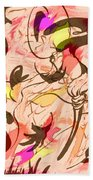 Colors In The Wind Beach Towel