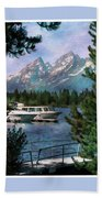 Colter Bay In The Tetons Beach Towel