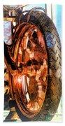 Copper Bike Liberty Ambassador Ny Beach Towel