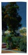 Corner Of The Garden, Alcazar, Sevilla Beach Towel
