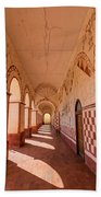 Corridor And Arches Beach Towel