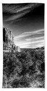 Courthouse Butte And Bell Rock Sedona Arizona Beach Towel