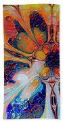 Crazy Daisy Beach Towel