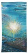 Creation Beach Towel