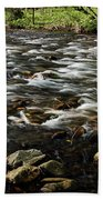 Creek, Smoky Mountains, Tennessee Beach Towel