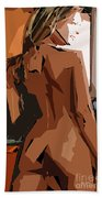 Cubism Series Xxiii Beach Towel