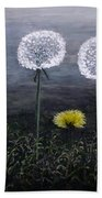 Dandelion Family Beach Towel
