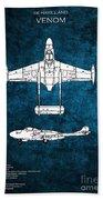 de Havilland Venom Beach Towel