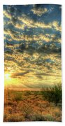 Desert Sunrise  Beach Towel