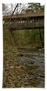 Dingleton Hill Bridge Beach Towel