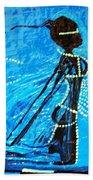 Dinka Lady - South Sudan Beach Towel