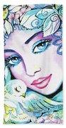 Dove Fairy Beach Towel