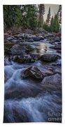 Down River Beach Towel