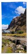 Drass Village Kargil Ladakh Jammu And Kashmir India Beach Towel