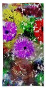 Dream Garden II Beach Towel