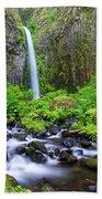 Dry Creek Falls Beach Towel