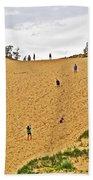 Dune Climb In Sleeping Bear Dunes National Lakeshore-michigan Beach Towel