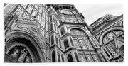 Duomo De Florencia Beach Towel