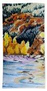 East Clear Creek Beach Towel