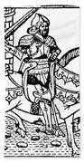 El Cid Campeador (c1040-1099) Beach Towel