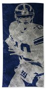 Eli Manning Giants Beach Towel