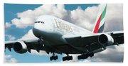 Emirates A380 Beach Towel
