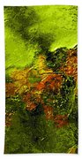 eruption II Beach Towel