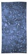 Evening Snow Beach Towel