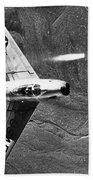 F-86 Jet Fighter Plane Beach Towel