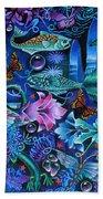 Fantasy Aquarium Beach Sheet