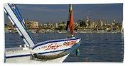 Felucca On The Nile Beach Towel