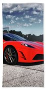 Ferrari F430 Beach Towel