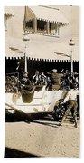 Film Homage Newsreel Cameraman The Great White Hope Set Globe Arizona 1969-2008 Beach Towel