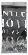 Film Noir Ray Teal Anthony Caruso Scene Of The Crime 1949 Antlers Hotel Victor Colorado 1971-2013 Beach Towel