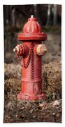 Fire Hydrant #16 Beach Towel