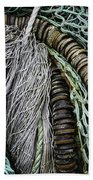Fish Netting Husavik Iceland 3755 Beach Towel