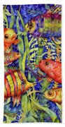 Fish Tales IIi Beach Towel