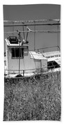 Fishing Boat Beach Towel