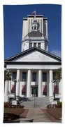 Florida State Capitol Building Beach Towel
