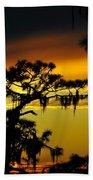Central Florida Sunset Beach Towel