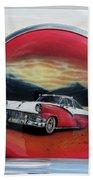 Ford Fairlane Rear Beach Towel