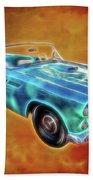 Ford Thunderbird Beach Towel