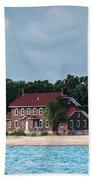 Fort Gratiot Lighthouse Beach Towel