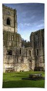 Fountains Abbey 6 Beach Towel