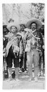 Francisco Pancho Villa Beach Towel