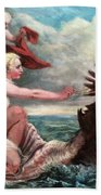 Galatea In Egress Beach Towel