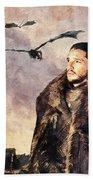 Game Of Thrones. Jon Snow. Beach Towel