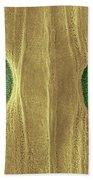 Garlic Leaf Stomata, Esem Beach Towel