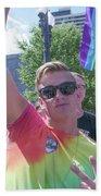 Gay Pride Beach Towel